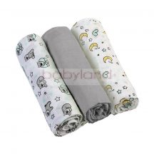 BabyOno Textilpelenka 3db 348/1 # szürke