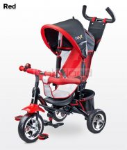 Toyz Timmy szülőkormányos tricikli megfordítható ülőrésszel # Red