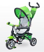 Toyz Timmy szülőkormányos tricikli megfordítható ülőrésszel # Green