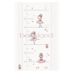 Ceba pelenkázó lap merev 2 oldalú 50x80cm – Prima balerina fehér
