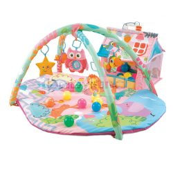 Cangaroo Happy Farm play mat # pink