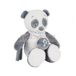Nattou plüss zenélő Lou Lou, Lea & Hippolyte 18 cm # Lou Lou a panda