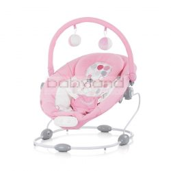 Chipolino Siesta zenélő-rezgő pihenőszék - Pink 2019