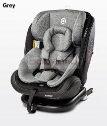 Caretero Mundo Isofix autósülés 0-36 kg # Grey