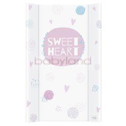 Ceba pelenkázó lap merev 2 oldalú 50x80cm – Lolly Polly Love 2