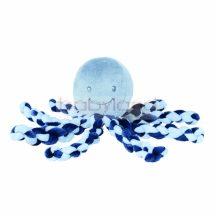 Nattou plüss játék 23cm Octopus sötétkék