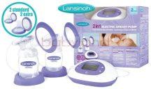 Lansinoh 2 az 1-ben elektromos dupla mellszívó