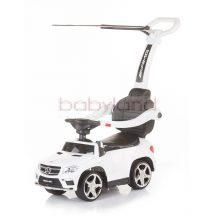 Chipolino Mercedes Benz GL63 AMG bébitaxi tolókarral # White