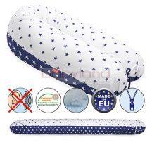 Scamp Formázható univerzális szoptatós párna pamut huzattal/BlueWhiteStar