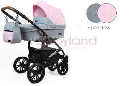 Luxbaby 3in1 Optimal Symbi multifunkciós babakocsi- Light Pink