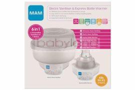 MAM 6in1 Sterilizáló készülék és ételmelegítő