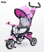 Toyz Timmy szülőkormányos tricikli megfordítható ülőrésszel # Pink