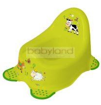 Funny Farm csúszásgátlós , tappancsos bili # zöld