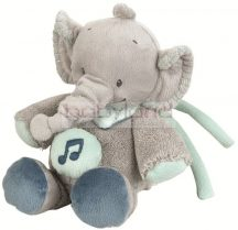 Nattou zenélő Jack, Jules & Nestor elefánt figura 18 cm