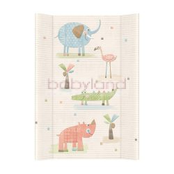 Ceba pelenkázó lap merev 2 oldalú 50x70cm - Elefánt
