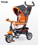 Toyz Timmy szülőkormányos tricikli megfordítható ülőrésszel # Orange