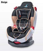 Caretero Sport Turbo autósülés 9-25 kg # Beige