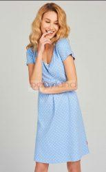 Muzzy kismama szoptatós hálóing # kék