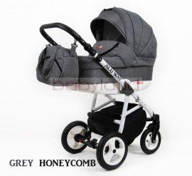 Alu Way 3:1 multifunkciós babakocsi # Grey Honeycomb