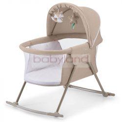 Kinderkraft LOVI bölcső, ágy és utazóágy # beige