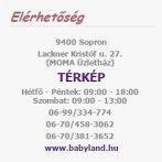 Scamp Formázható univerzális szoptatós párna pamut huzattal / BeigeWhiteLittleBigStars