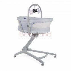 CHICCO Baby Hug Air 4in1 bölcső-pihenő-etetőszék-fotel  # Stone